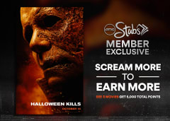 Scream More to Earn More - See 3 Movies Get 5,000 Total Points