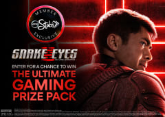 Enter for a chance to win The Ultimate Gaming Prize Pack