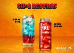 Sip and Destroy - Shark Bite and Super Villain