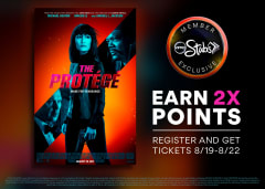 Earn Double Points - Register and Get Tickets 8/19-8/22