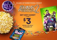Get Any Candy for $3 When You Buy a Combo #1