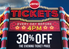 Every Day Before 4pm 30% Off The Evening Ticket Price
