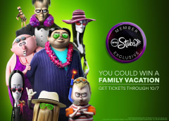 You Could Win a Family Vacation - Get Tickets Through 10/7