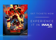 Get Tickets Now to Experience it in IMAX at AMC