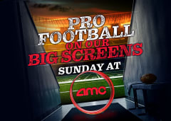 Pro Football on Our Big Screens Sunday at AMC