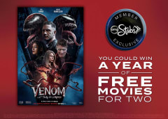 You Could Win a Yeear of Free Movies for Two