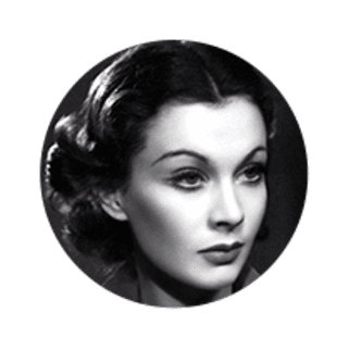 Photo of Actress Vivien Leigh