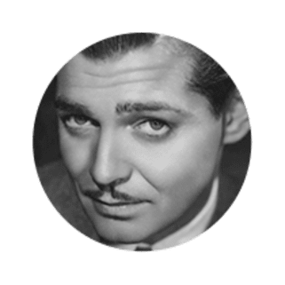 Photo of Actor Clark Gable