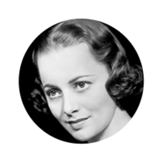 Photo of Actress Olivia De Havilland
