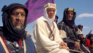 Scene from Lawrence of Arabia