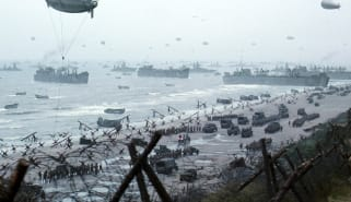 Scene from Saving Private Ryan