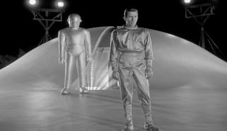 Scene from The Day the Earth Stood Still