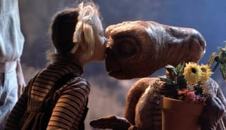 Scene from E.T. - The Extra Terrestrial