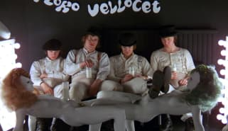 Scene from A Clockwork Orange