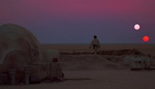 Scene from Star Wars: Episode IV - A New Hope