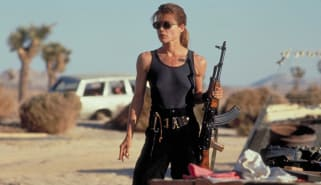 Scene from Terminator 2: Judgment Day