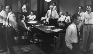 Scene from 12 Angry Men