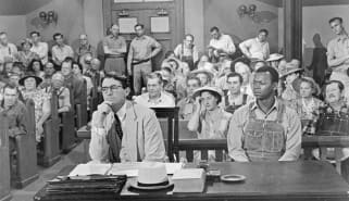 Scene from To Kill a Mockingbird