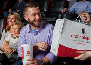 Your order delivered to your seat