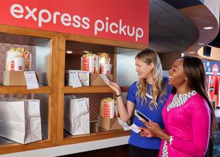 Express pick-up at AMC Theatres
