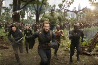 See Avengers Infinity War in Imax