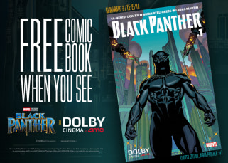 Black Panther Dolby Cinema Comic Book