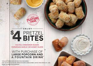 AMC Pretzel Bites Offer