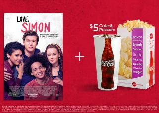 Coke Teen Offer, Love Simon