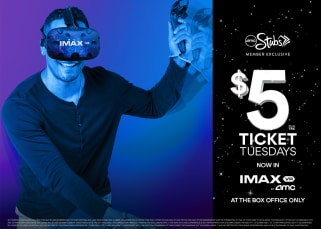 AMC IMAX VR $5 Ticket Tuesday