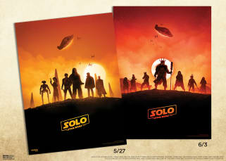 Solo IMAX posters