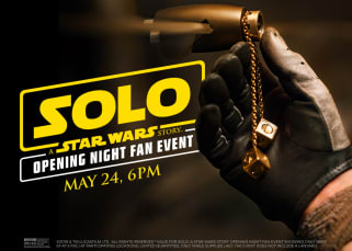 Solo Opening Night Fan Event