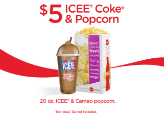 AMC Theatres Exclusive Teen Deal