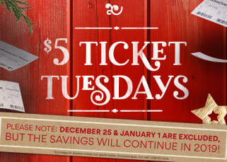 $5 Ticket Tuesdays