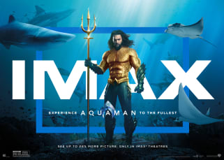 See Aquaman in imax
