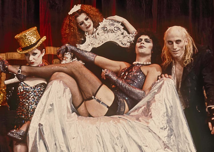 Promotional image for The Rocky Horror Picture Show