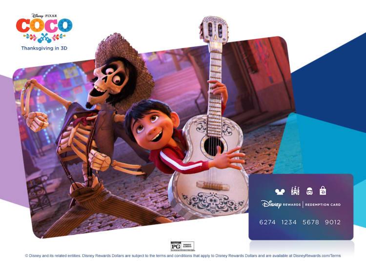 COCO Disney Rewards