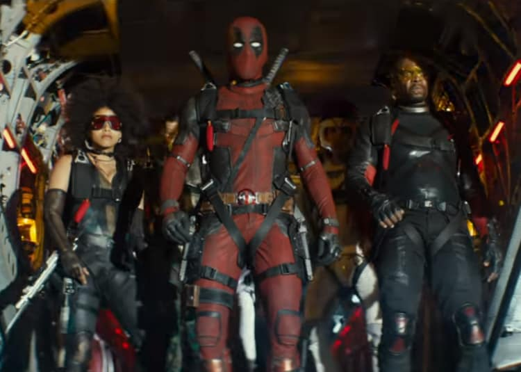 Promotional image for Deadpool 2