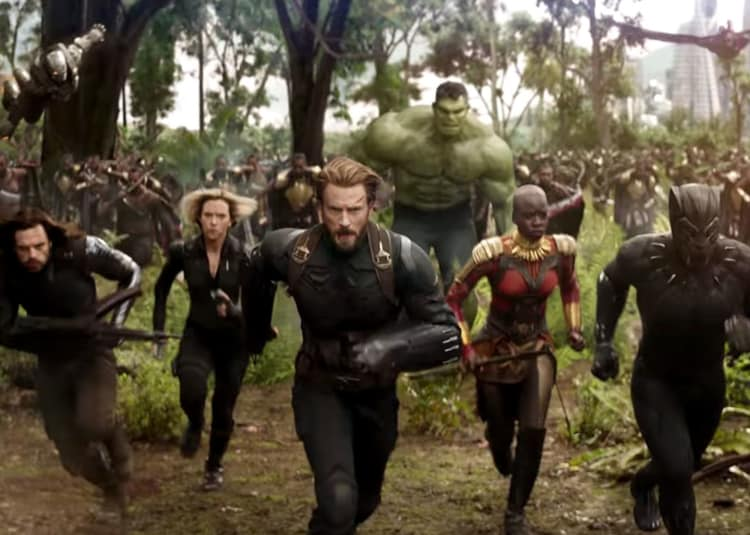 Promotional image for Avengers: Infinity War