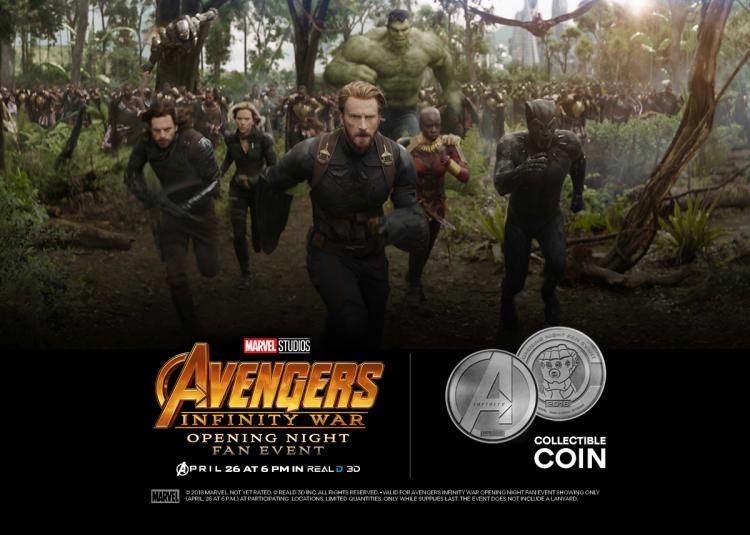 Avengers: Infinity War at an AMC Theatre near you