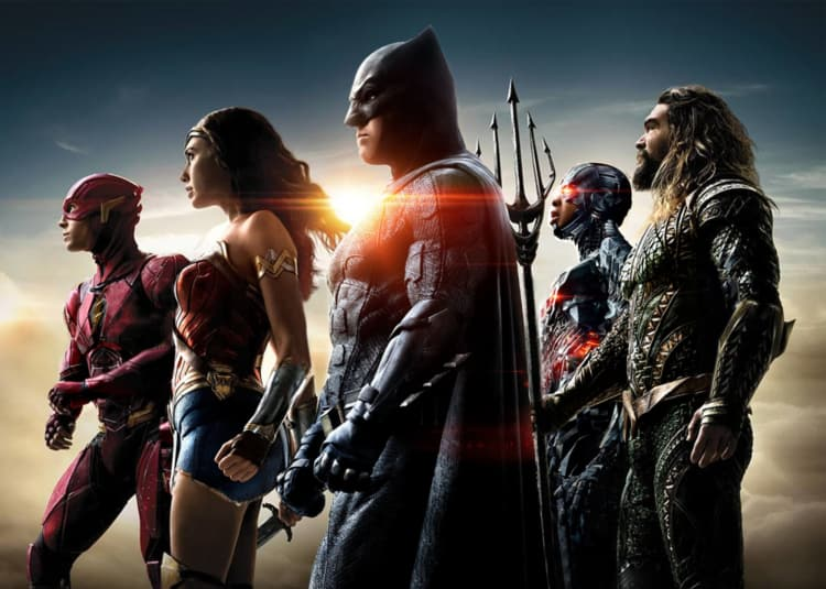 Promotional image for Justice League