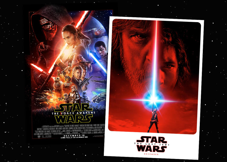 Promotional image for Star Wars: The Last Jedi