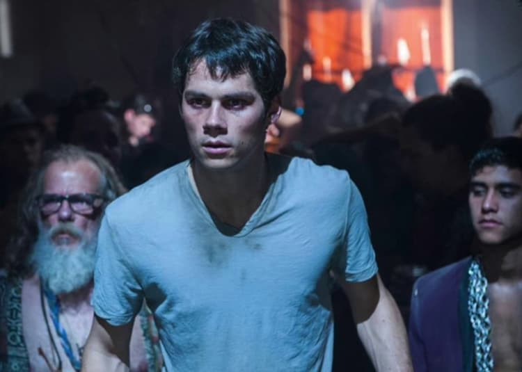 Promotional image for The Maze Runner: The Death Cure
