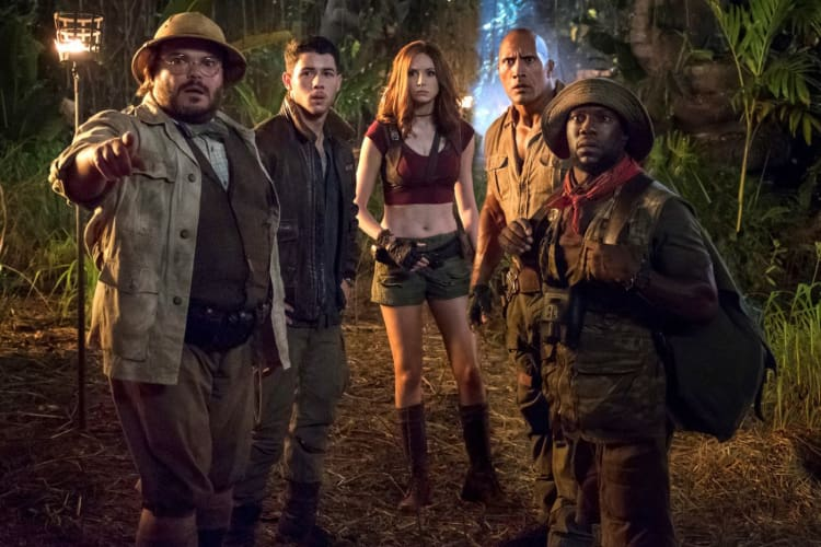 Promotional image for Jumanji: Welcome To The Jungle