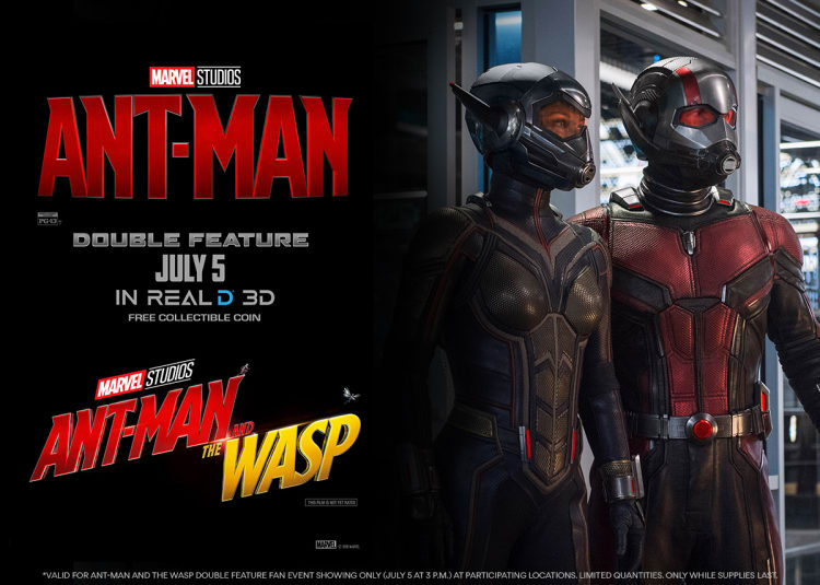 Ant-Man and the Wasp Double Feature