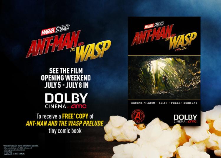 Ant-man comic book