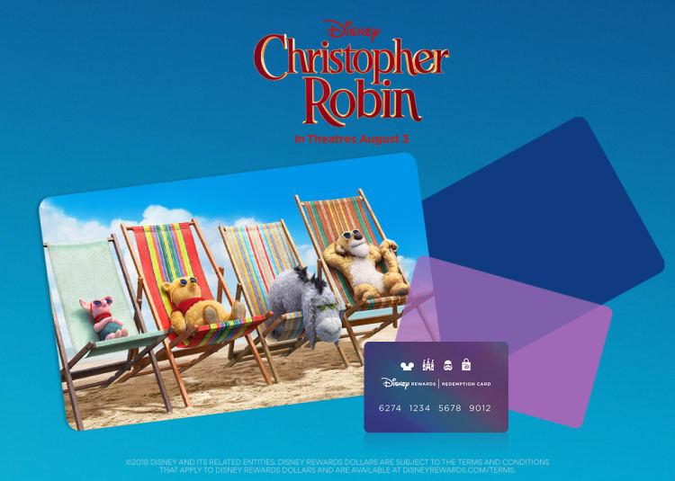 Redeem Disney Rewards Dollars to see Christopher Robin