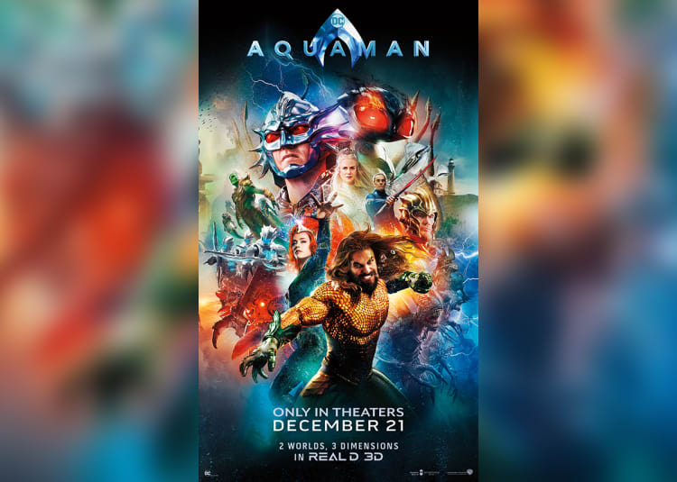 Movies Theaters In 2018: Aquaman At An AMC Theatre Near You