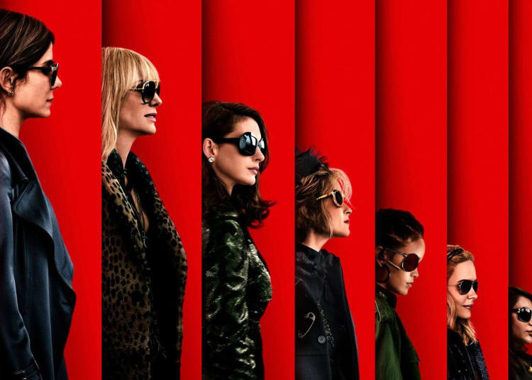 Promotional image for Ocean's 8