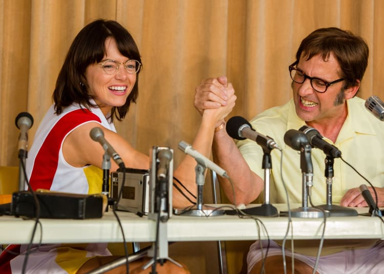 Promotional image for Battle Of The Sexes