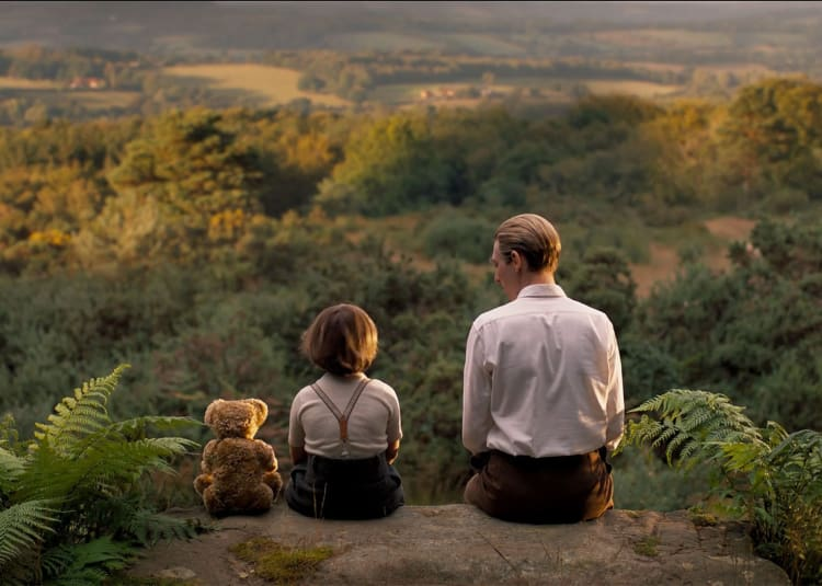 Promotional image for Goodbye Christopher Robin